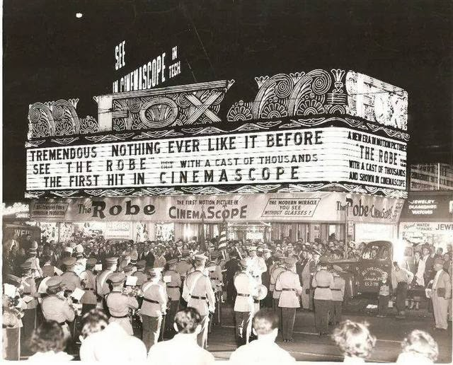 Fox Theatre, 1953, Photo by Mark Conti