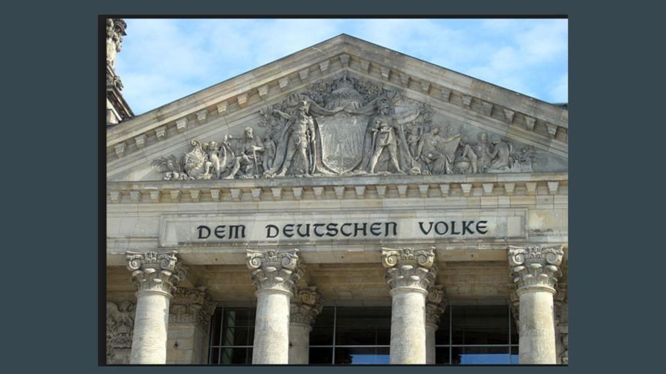 Brexit Dreams and Brexit Nightmares German Parliament Closeup