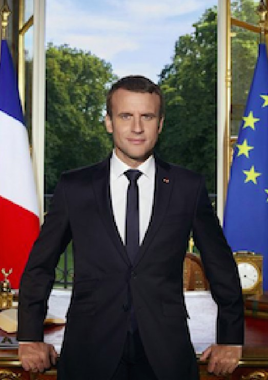 Macron Official Portrait